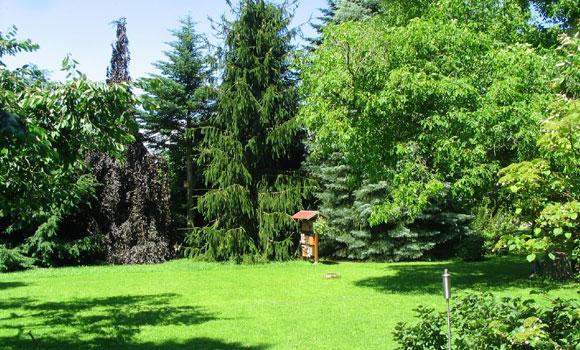 Das Ferienhaus am Malerweg. Der Garten